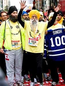 maratoneta a 100 anni